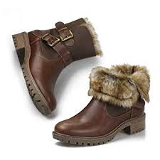 <b>Women's</b> Ankle Snow Rain Warm <b>Boots Anti</b>-<b>Slip Waterproof</b> Winter ...