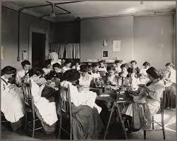 boston public schools girls trade school dressmaking class boston public schools girls trade school dressmaking class