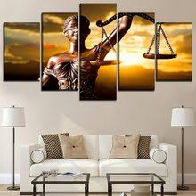 <b>Canvas Wall Art</b> Modular Pictures <b>Home</b> Decor 5 Piec reviews ...