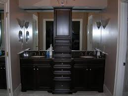 twin outstanding bathroom cabinet ideas pictures black wooden cabinetry simple lighting wall design twin simple designer bathroom vanity cabinets