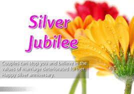 Silver Jubilee Quotes - Wedding Anniversary Messages