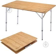 ᐉ Раскладной <b>стол KingCamp Bamboo</b> Folding table bamboo ...