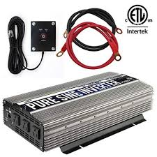 GoWISE <b>Power</b> PS1003 Pure SINE Wave <b>Inverter</b> 2000w Cont ...