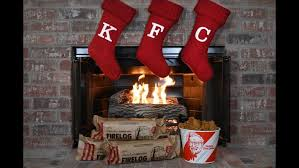 KFC sells out of fried chicken scented fire logs - KXLY