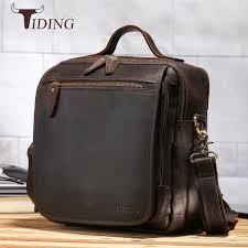 <b>Handmade Genuine Leather</b> Designers Flap-Over Retro Sachel Bag ...