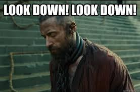 Look Down! Look DOWN! - Les Miserables - quickmeme via Relatably.com