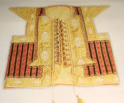Tunisian farmla – <b>ornate</b> vest with <b>sparkling</b> gold embroidery ...