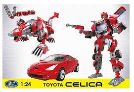 <b>happywell</b> vcreate 1/24 red <b>toyota celica</b> 3 in 1 roadbot #transformer ...