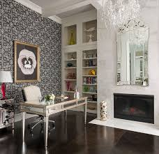 view in gallery venetian style mirror marble fireplace and classy chandelier for the home office design chandelier home office lighting
