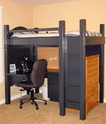 kids bunk bed ideas dark amazing loft bed desk