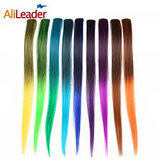 <b>Alileader</b> Products One Piece <b>Hair Clip</b> Extension <b>Synthetic Fake</b> ...