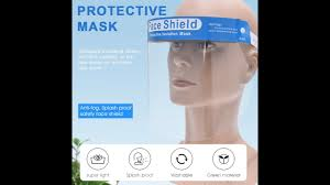 <b>Adjustable Transparent Face Shield</b> - YouTube