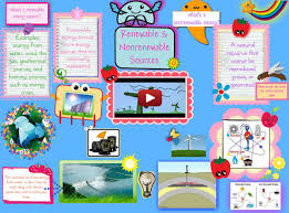 what are renewable and non renewable resources nonrenewable renewable energy sources publish glogster