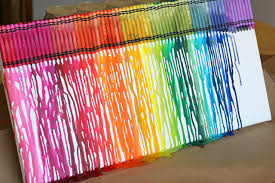 Image result for crayon wax art