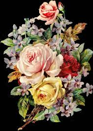 <b>Vintage Flowers</b> Png by deadassdahmer on DeviantArt
