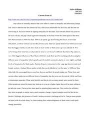 current event essay   jaylen williams soc  current event   pages current event essay