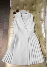 New Women White <b>Patchwork Ruffle</b> Draped V-neck <b>Fashion</b> Mini ...