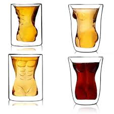Muscle Man <b>Sexy Naked Women Drinking</b> Couple Cups Cup Wine ...
