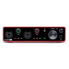 Купить <b>аудиоинтерфейс focusrite scarlett 4i4</b> 3rd gen по цене от ...