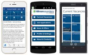 home hillman saunders mobile apps