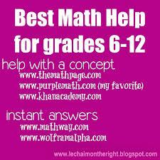 ideas about Math Homework Help on Pinterest   Addition Of     Pinterest Best  math help for grades        Free resources for grade