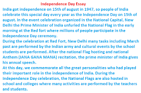 essay on independence day  wwwgxartorg august happy independence day essay in hindi amp english happy independence day essay