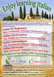 college of commerce homework archives italian cork italian in cork