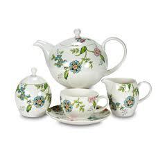 9016/23/1 ROYAL BONE CHINA, <b>Сервиз чайный</b> «<b>Прованс</b>», 23 ...