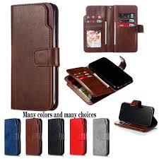 Luxury Nine Card Holder Slots <b>PU Leather Wallet Case</b> Flip ...