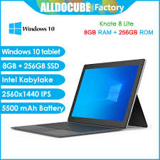 €306 with coupon for <b>Alldocube knote 8 Lite</b> Intel Kaby Lake 6Y30 ...