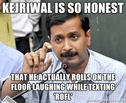 Honestly, top 15 corruption-free memes on Kejriwal | india ... via Relatably.com