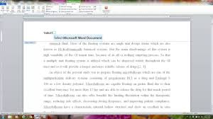 THESIS   DISSERTATION GUIDE  Different header on different page     YouTube