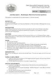 samplebusinessresume com page 31 of 37 business resume bookkeeper job description shrm