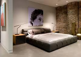 cool bedroom wall designs ideas cool bedroom wall design exposed brick wall in modern mens bedroom design ideas cool