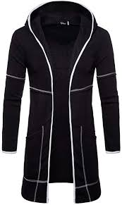 Forthery <b>Clearance</b> Men's <b>Trench</b> Coat Winter Long Jacket Sweater ...