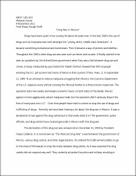 essay rough draft example of a rough draft of a essay paper drug war in final essay rough draft amst melanie