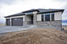 Utah Home Plans   Standard Plans  Rambler   Story  Lightyear    Available Rambler Home Plans