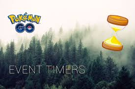 Events and Countdown timers - Pokémon GO