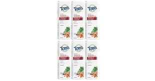 Tom's of Maine <b>Natural</b> Care Toothpaste, <b>Propolis &</b> Myrrh ...