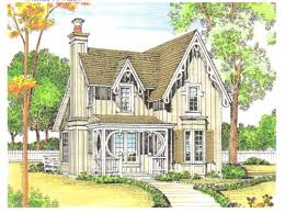 Small Victorian Country Cottage House Plans  French Country Decor    Small Victorian Country Cottage House Plans