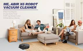 <b>ABIR X6 Robot Vacuum</b> Cleaner With Camera For Just $245 at ...