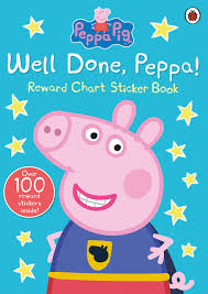 a girl potty toilet training chart stickers amazon co uk well done peppa peppa pig