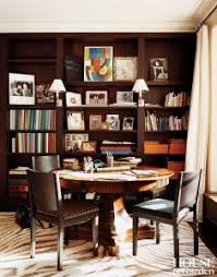 office dining room library style zebra carpet wood inlay table orange hermes boxes on bookshelf built in better decorating bible blog 235x300jpg built home office desk builtinbetter
