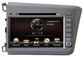 Штатные магнитолы для <b>Honda</b> Civic 4D - купить магнитолу для ...