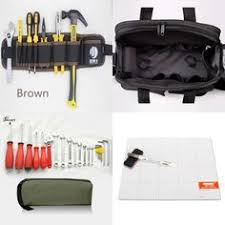 PEGASI <b>Professional</b> Electricians Tool Bag <b>Hard Plate</b> Kit Tool Bag ...