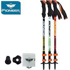 Pioneer <b>Ultra light Adjustable</b> Camping <b>Hiking Walking</b> Trekking ...