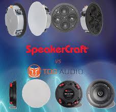 Сравнение встроенной <b>акустики SpeakerCraft PROFILE</b> ACCUFIT ...