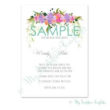 flower wedding invitation template sample tutti frutti flower invitation template sample