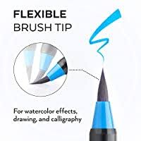 Arteza Real Brush Pens, 48 Colors for Watercolor ... - Amazon.com