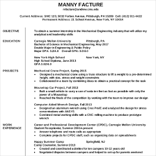 resume writing template –    free word  pdf  psd documents    mechanical engineering resume writing template